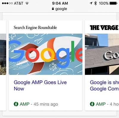 Google News Carousel