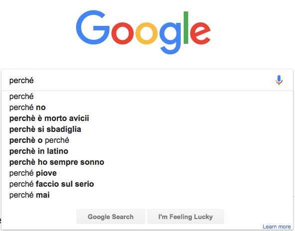Google Suggest - Knowledge Graph