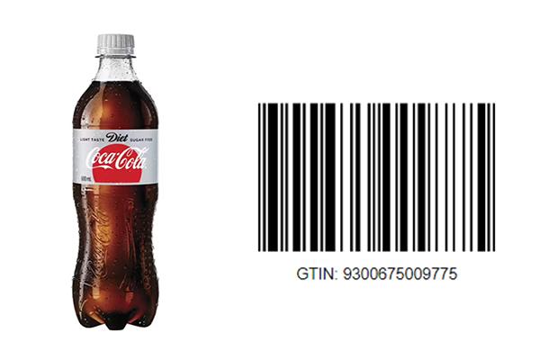 Diet coke's GTIN